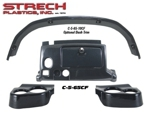 Club Car Precedent Dash - Carbon Fiber