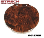 E-Z-GO TXT 2000+ Steering Wheel Cover Regal Burl