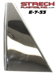 E-Z-GO TXT Stainless Steel Armour Plate - passenger side