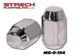 Metric Chrome Lug Nut 1.25 (for Yamaha)